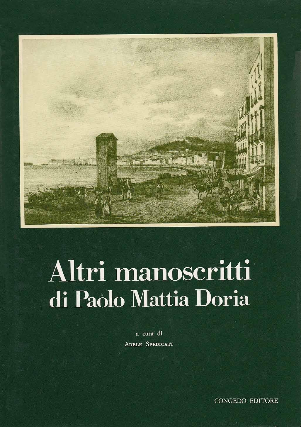 Altri manoscritti di Paolo Mattia Doria