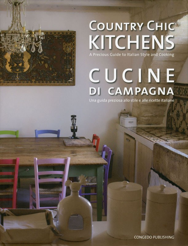 Country chic kitchens cucine di campagna for Layout della cucina di campagna