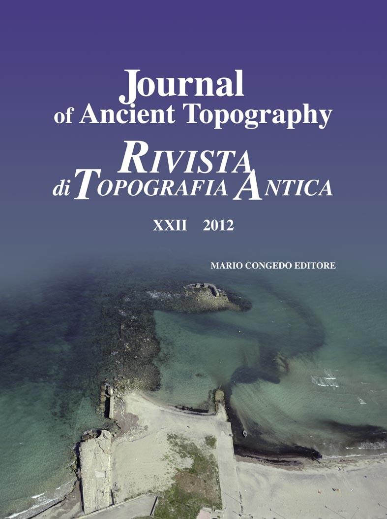 Rivista di Topografia Antica XXII - 2012