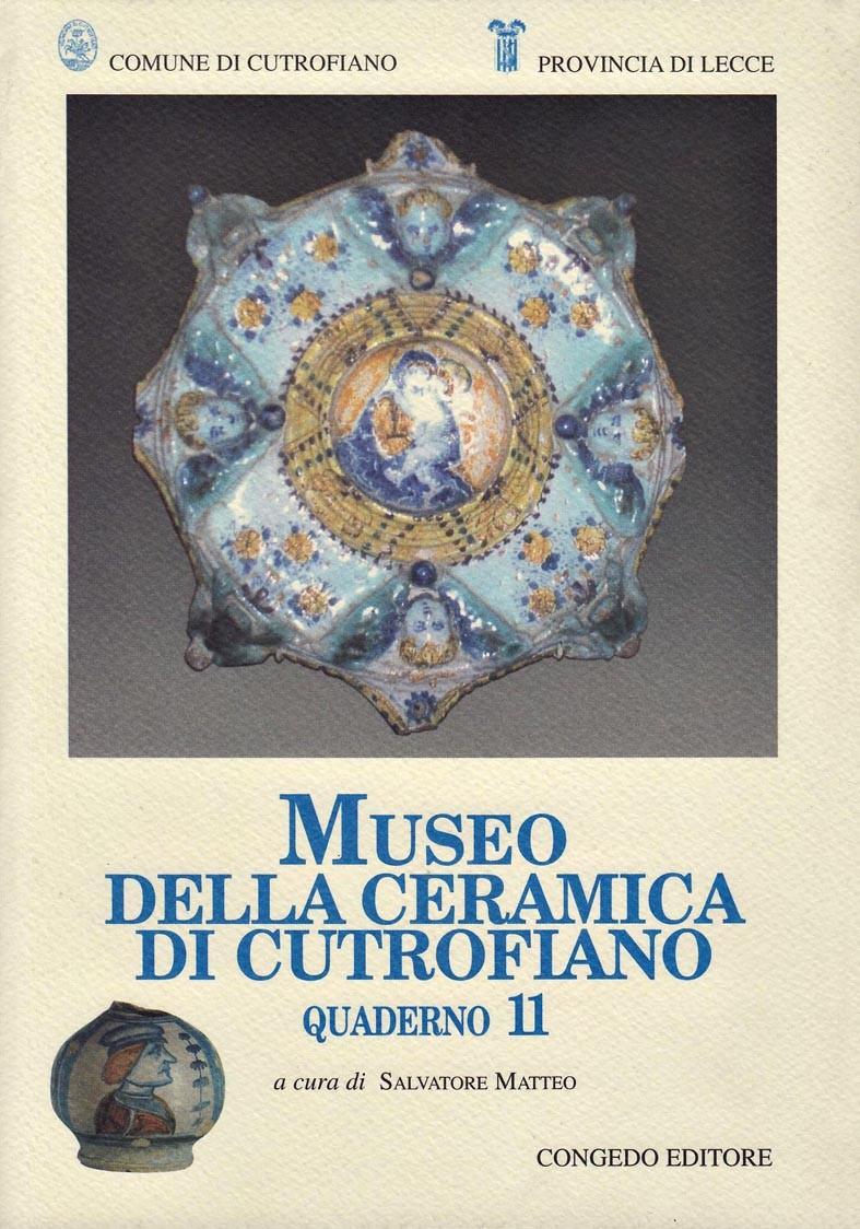 Museo della Ceramica di Cutrofiano - Quaderno 11
