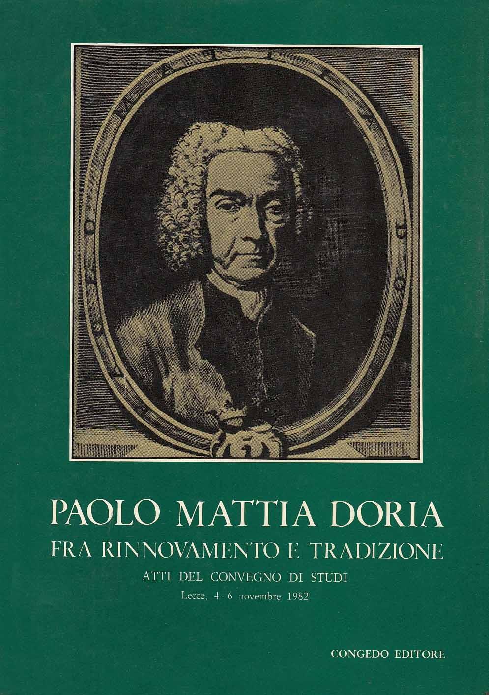 Paolo Mattia Doria fra rinnovamento e tradizione