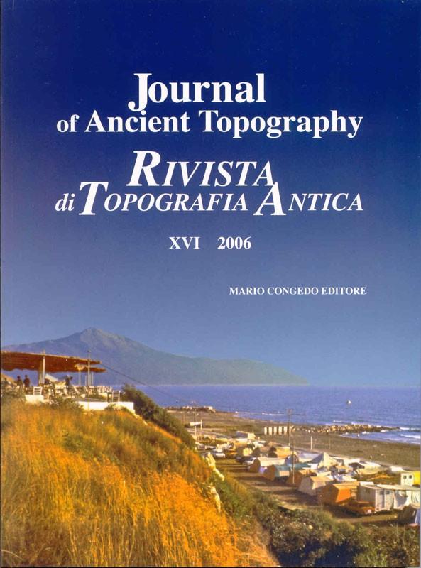Rivista di Topografia Antica XVI - 2006