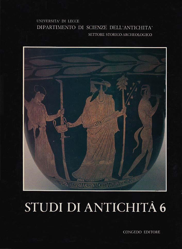 Studi di Antichità 6