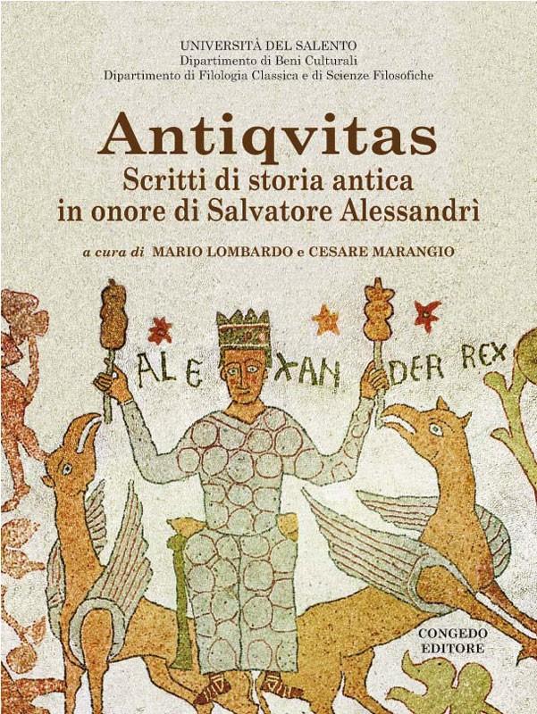 Antiqvitas - Scritti di storia antica in onore di Salvatore Alessandri