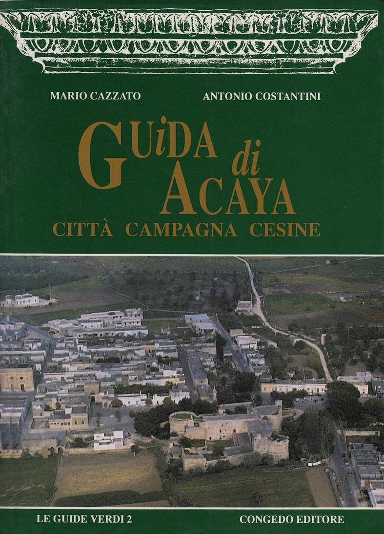 Guida di Acaya Città Campagna Cesine