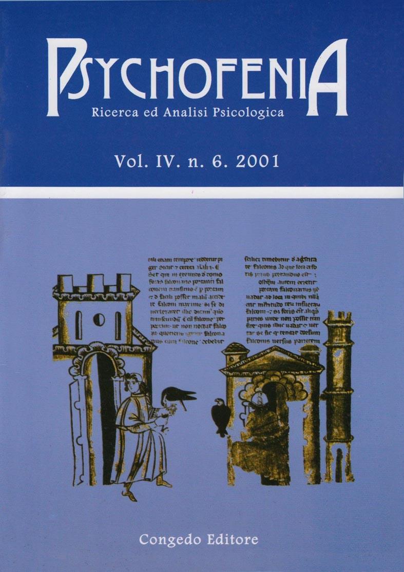 Psychofenia. Ricerca ed Analisi Psicologia. IV.6.2001