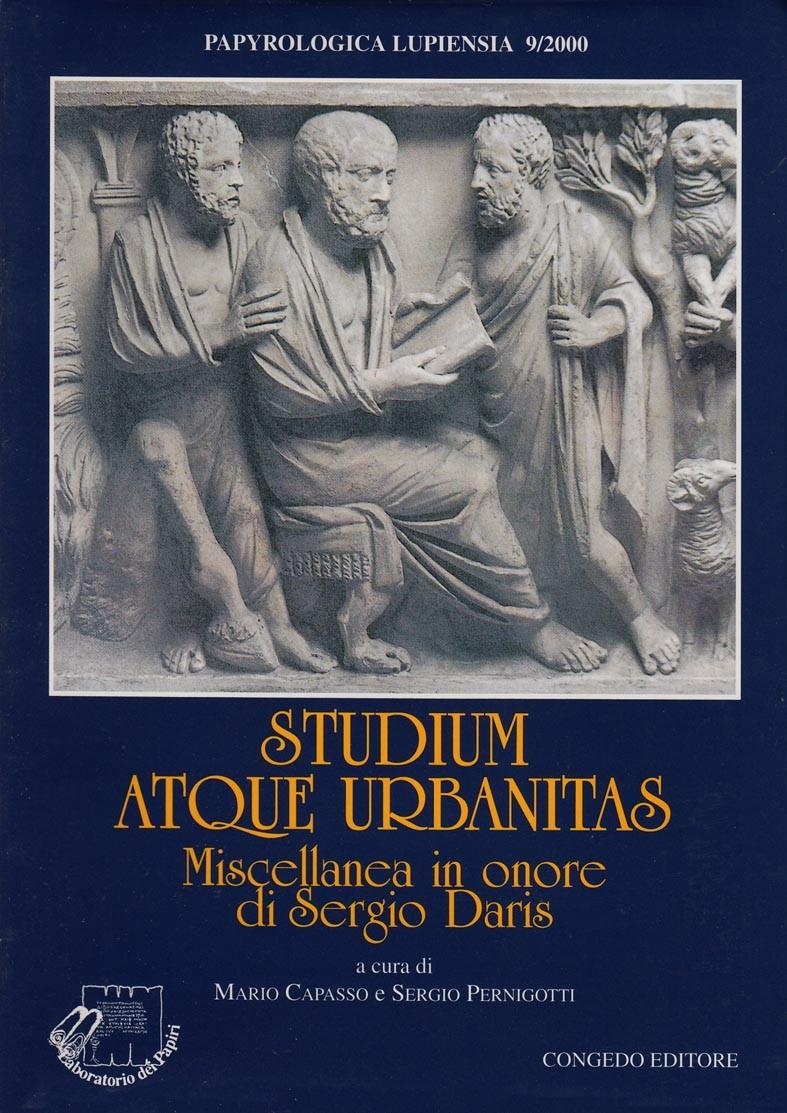 Studium atque urbanitas