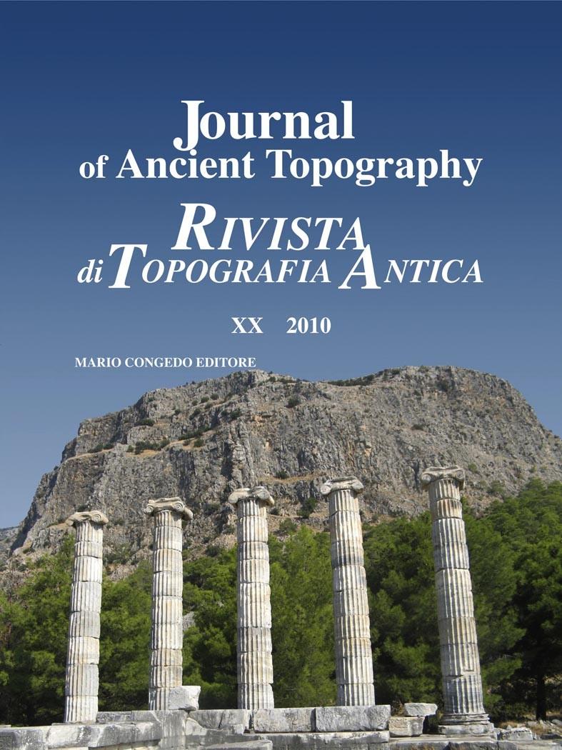 Rivista di Topografia Antica XX - 2010