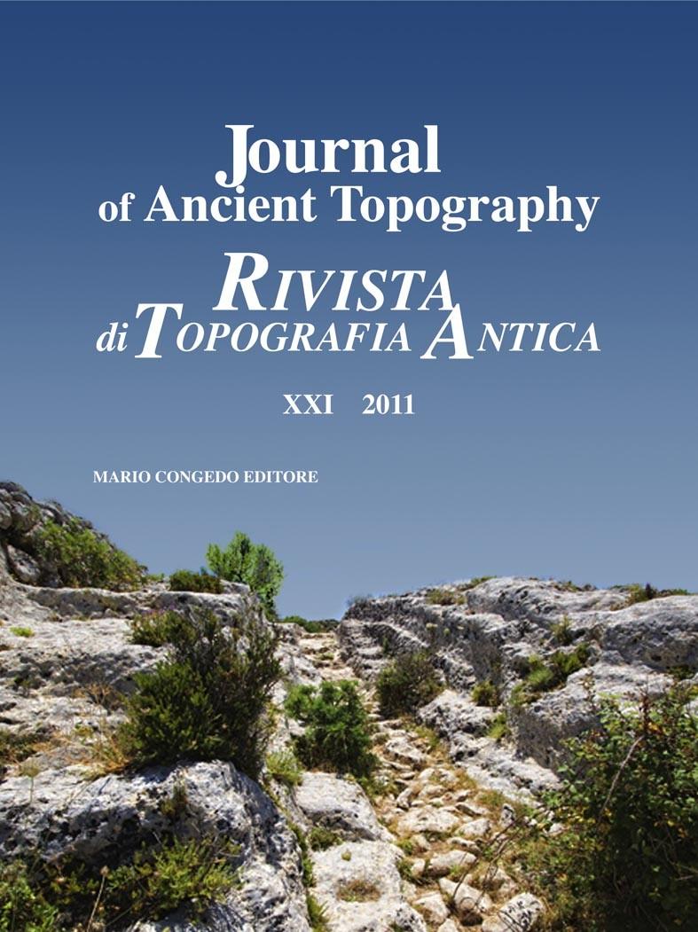 Rivista di Topografia Antica XXI - 2011