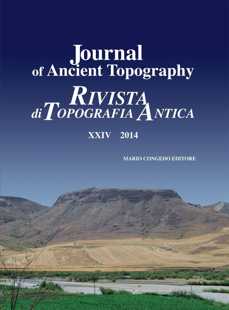 Rivista di Topografia Antica XXIV - 2014
