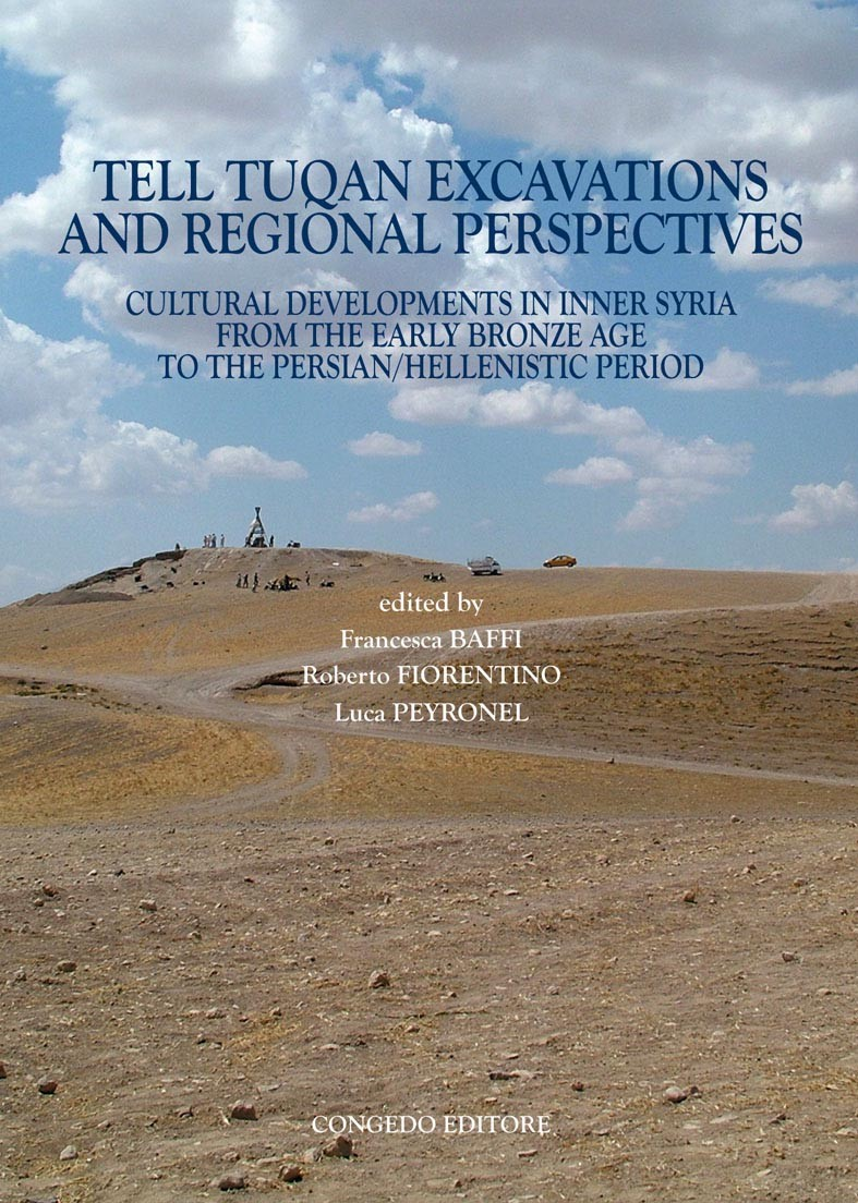 Tell Tuqan Excavations and Regional Perspectives