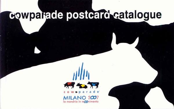 Cowparade postcard catalogue