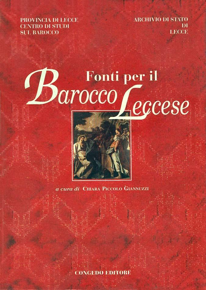 Fonti per il Barocco Leccese
