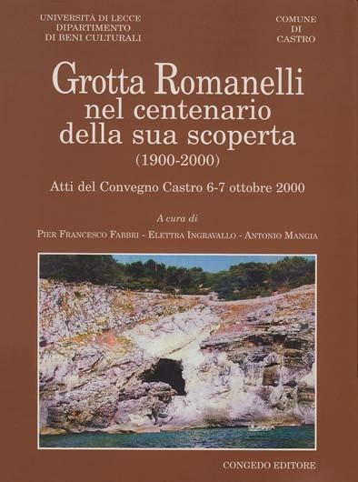 Grotta Romanelli nel centenario della sua scoperta (1900-2000)