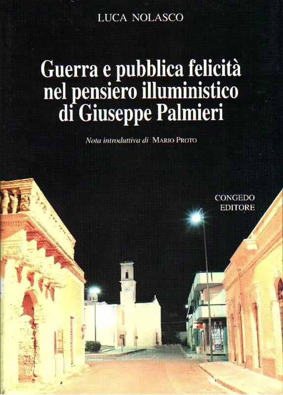 Guerra e pubblica felicità nel pensiero illuministico di Giuseppe Palmieri