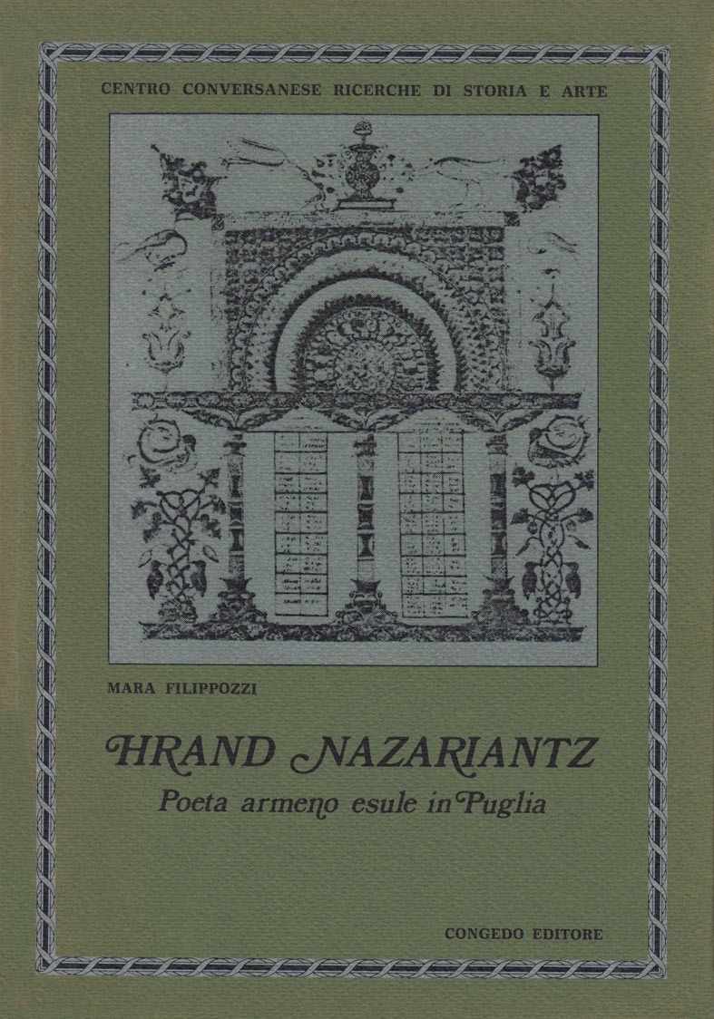 Hrand Nazariant. Poeta armeno esule in Puglia