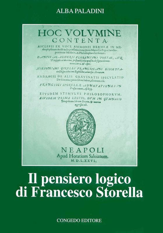 Il pensiero logico di Francesco Storella