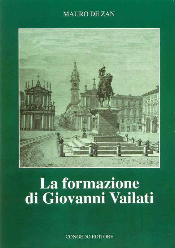 La formazione di Giovanni Vailati
