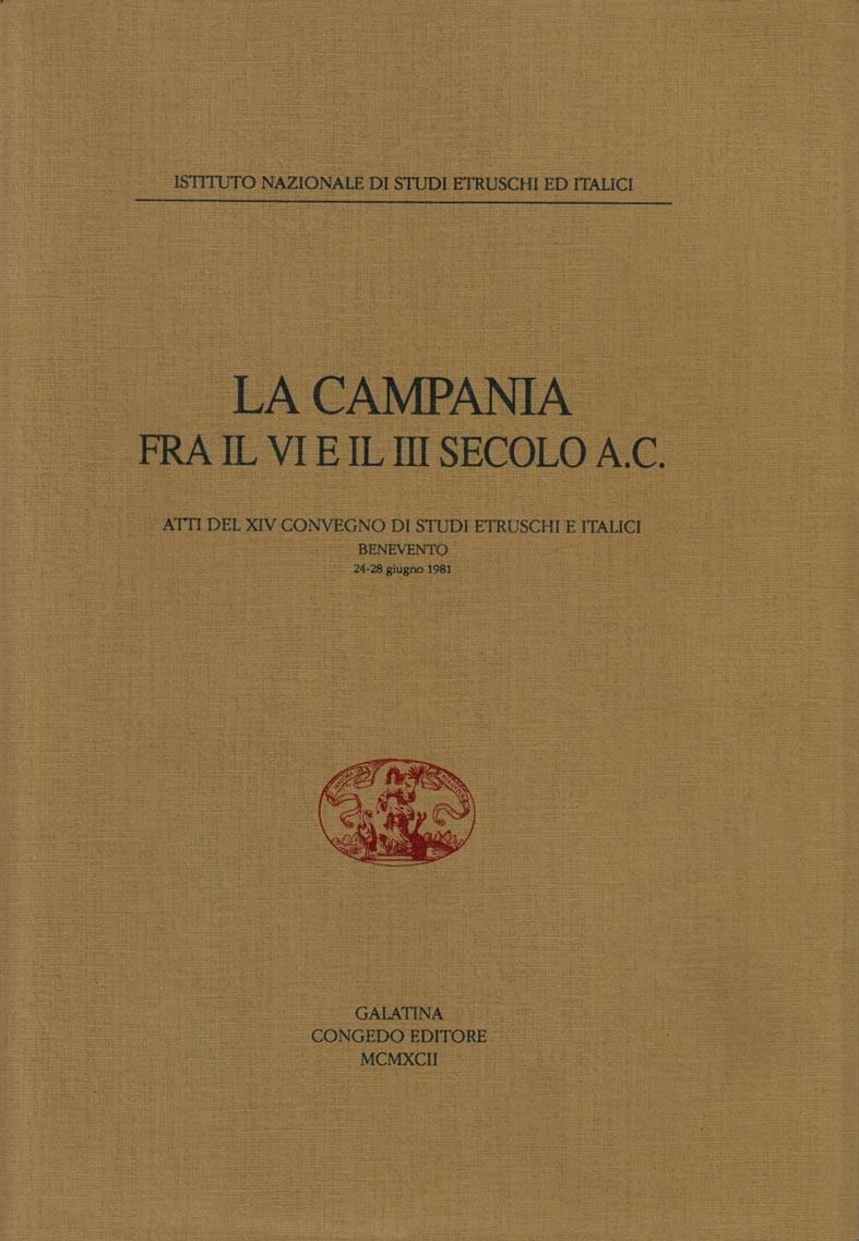 La Campania fra il VI e III secolo a.C.