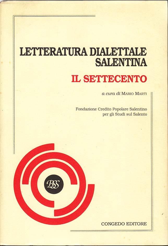 Letteratura dialettale salentina. Il Settecento
