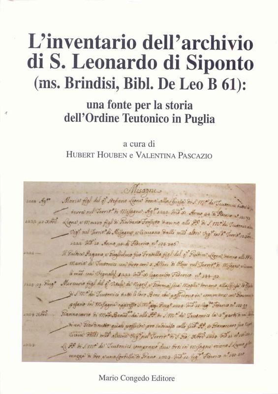 L'inventario dell'archivio di S. Leonardo di Siponto