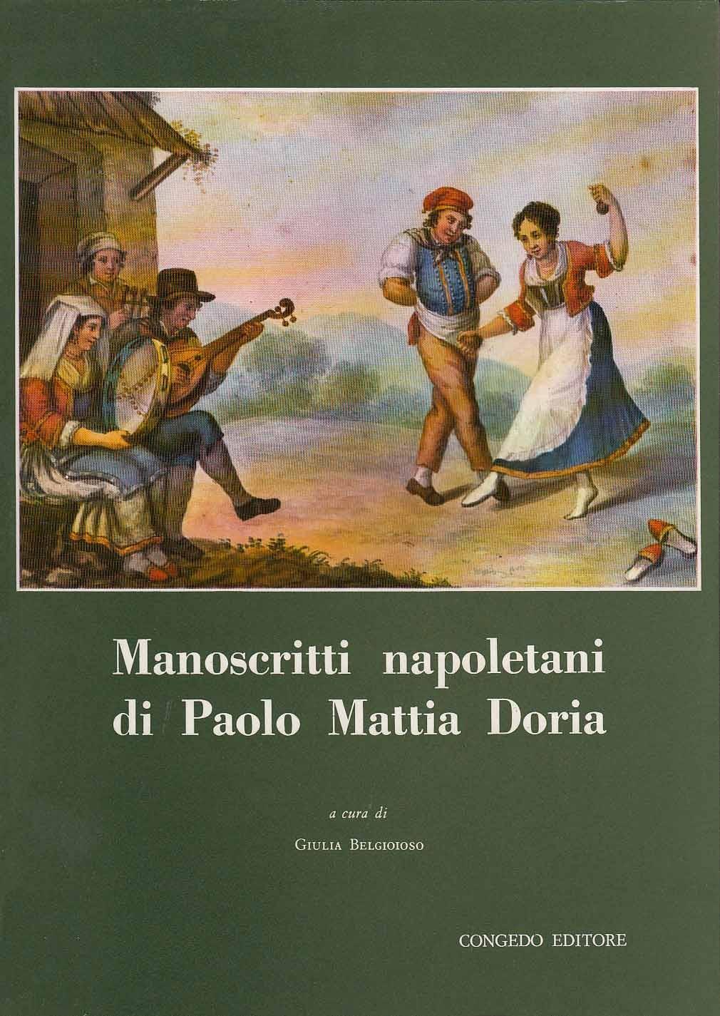 Manoscritti napoletani di Paolo Mattia Doria (5 volumi)