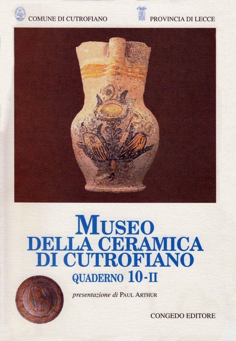 Museo della Ceramica di Cutrofiano - Quaderno 10-II