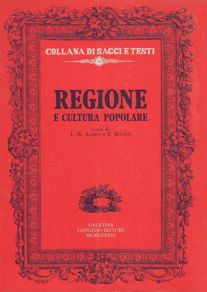 Regione e cultura popolare