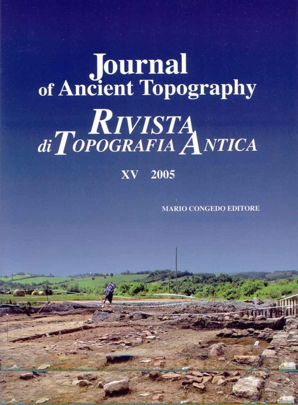 Rivista di Topografia Antica XV - 2005