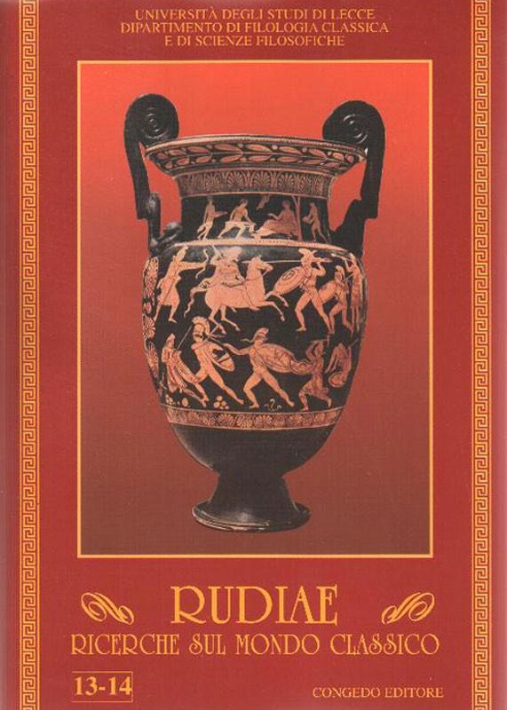 Rudiae. Ricerche sul mondo classico 13-14