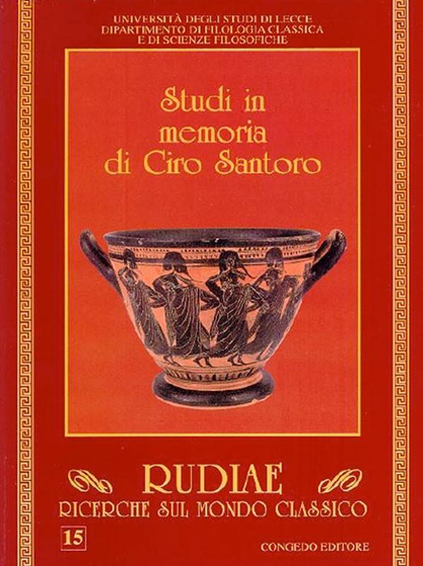 Rudiae. Ricerche sul mondo classico 15