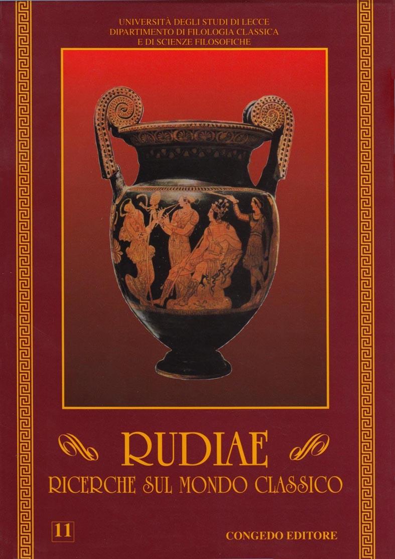 Rudiae. Ricerche sul mondo classico 11