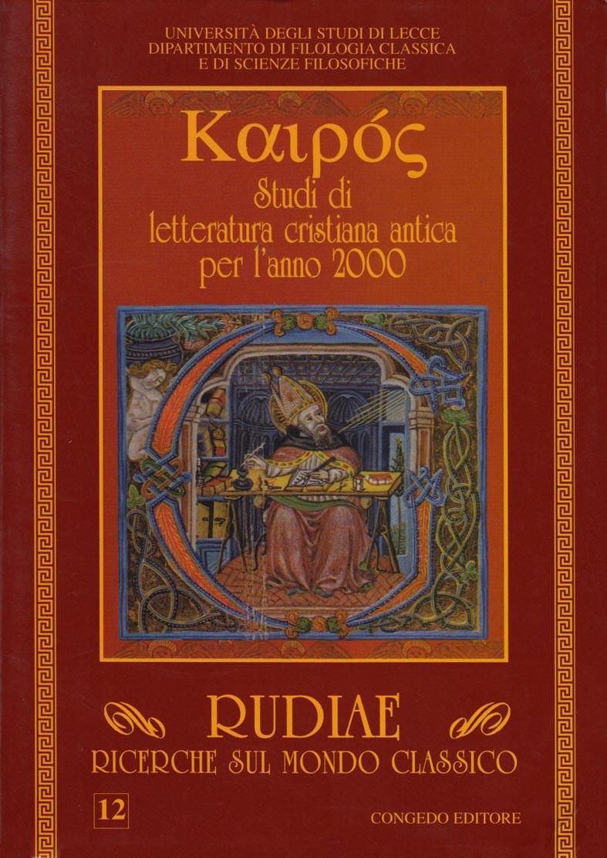 Rudiae. Ricerche sul mondo classico 12