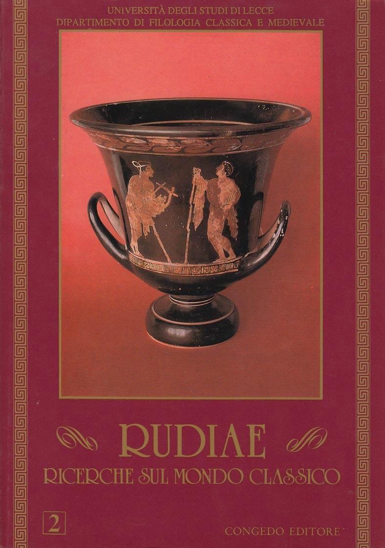 Rudiae. Ricerche sul mondo classico 2