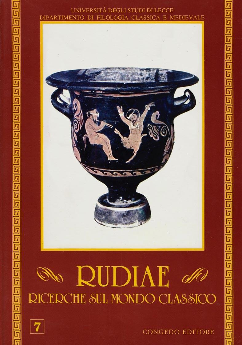 Rudiae. Ricerche sul mondo classico 7