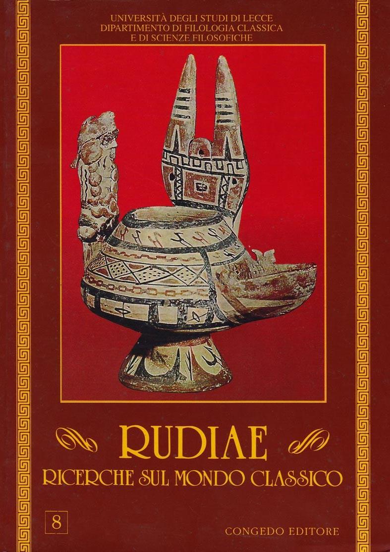 Rudiae. Ricerche sul mondo classico 8
