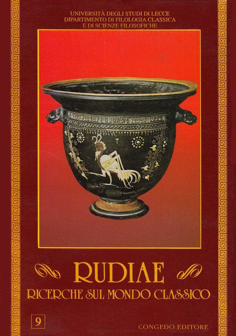 Rudiae. Ricerche sul mondo classico 9