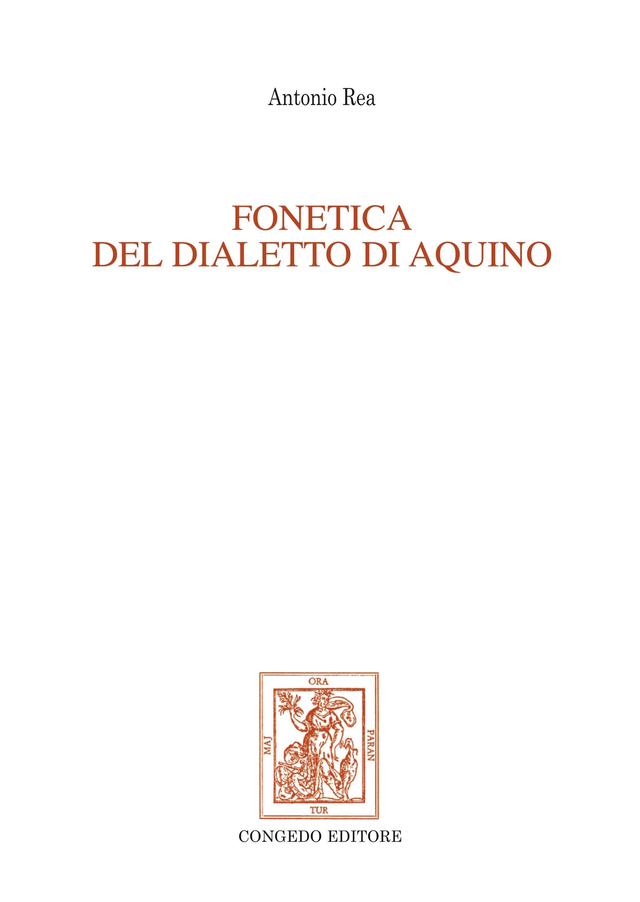 Fonetica del dialetto di Aquino