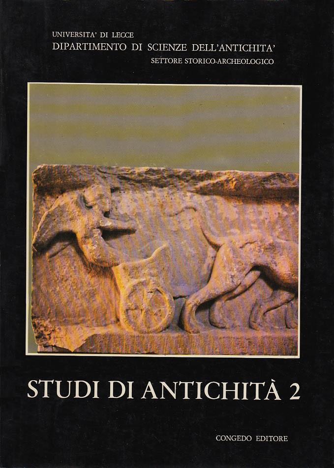 Studi di Antichità 2
