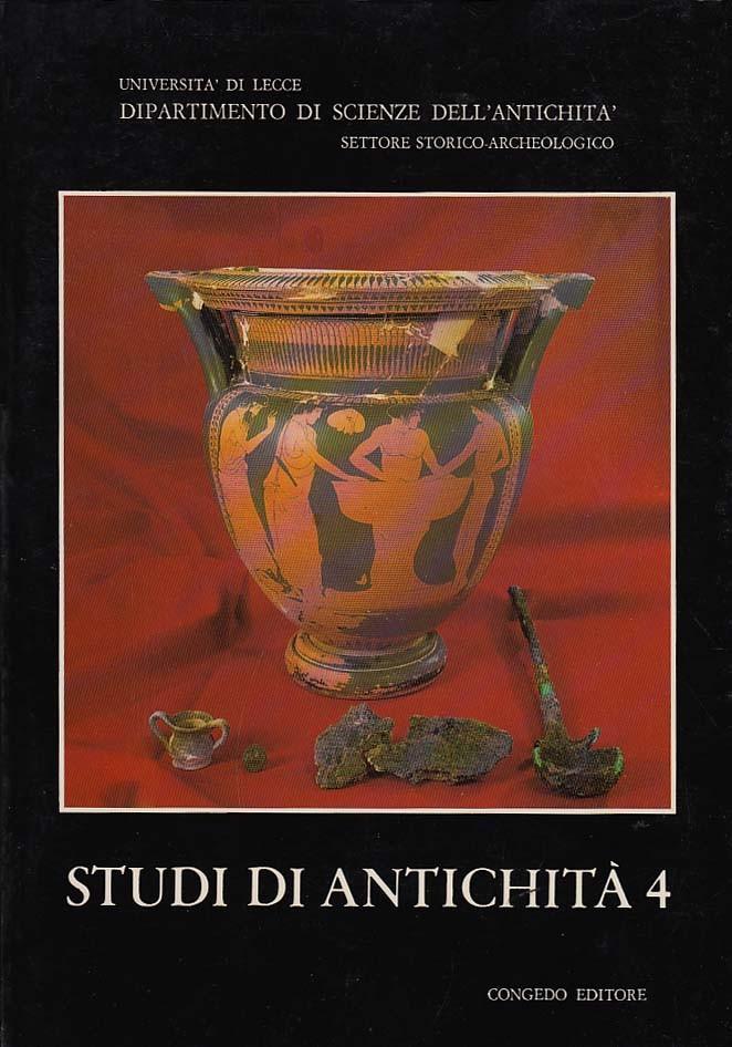 Studi di Antichità 4