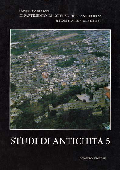 Studi di Antichità 5