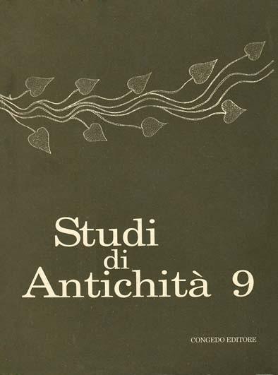 Studi di Antichità 9
