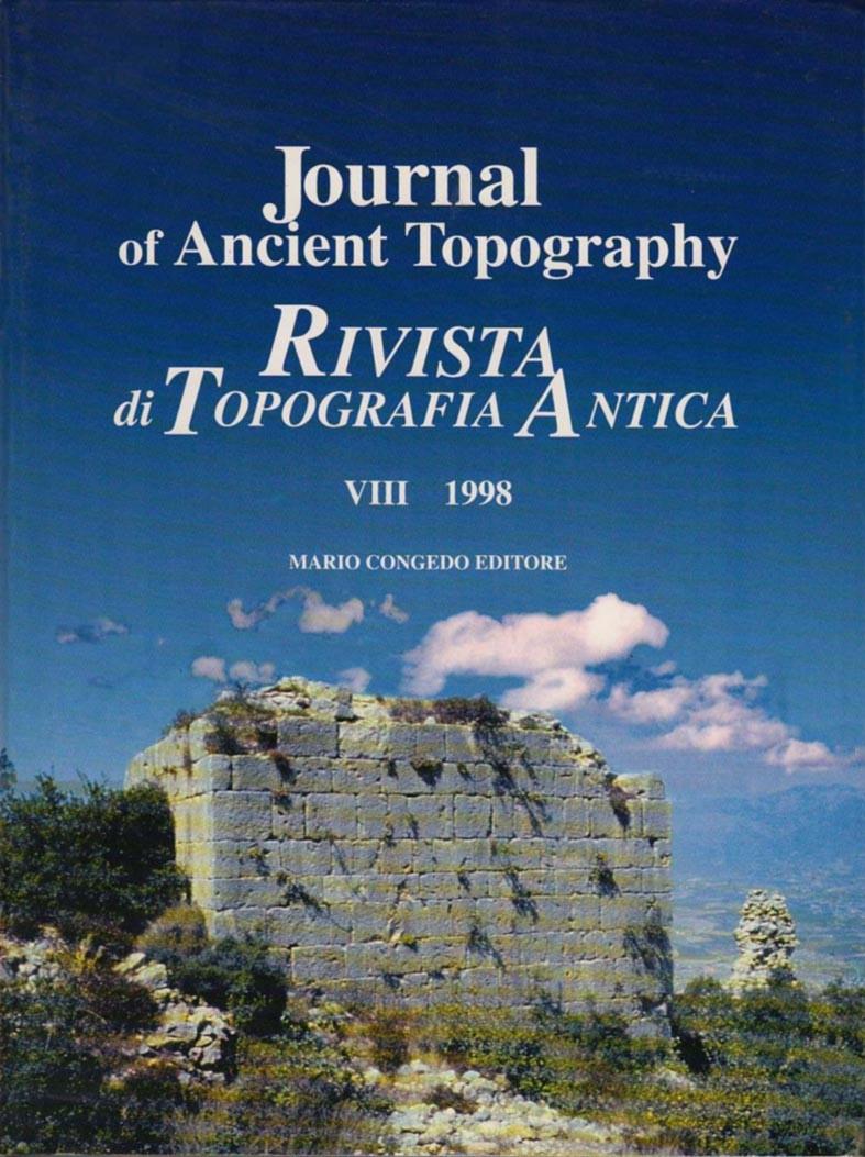 Rivista di Topografia Antica VIII - 1998