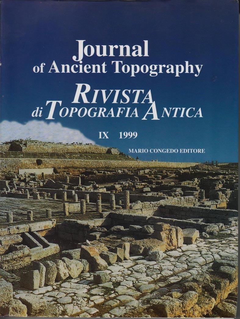 Rivista di Topografia Antica IX - 1999