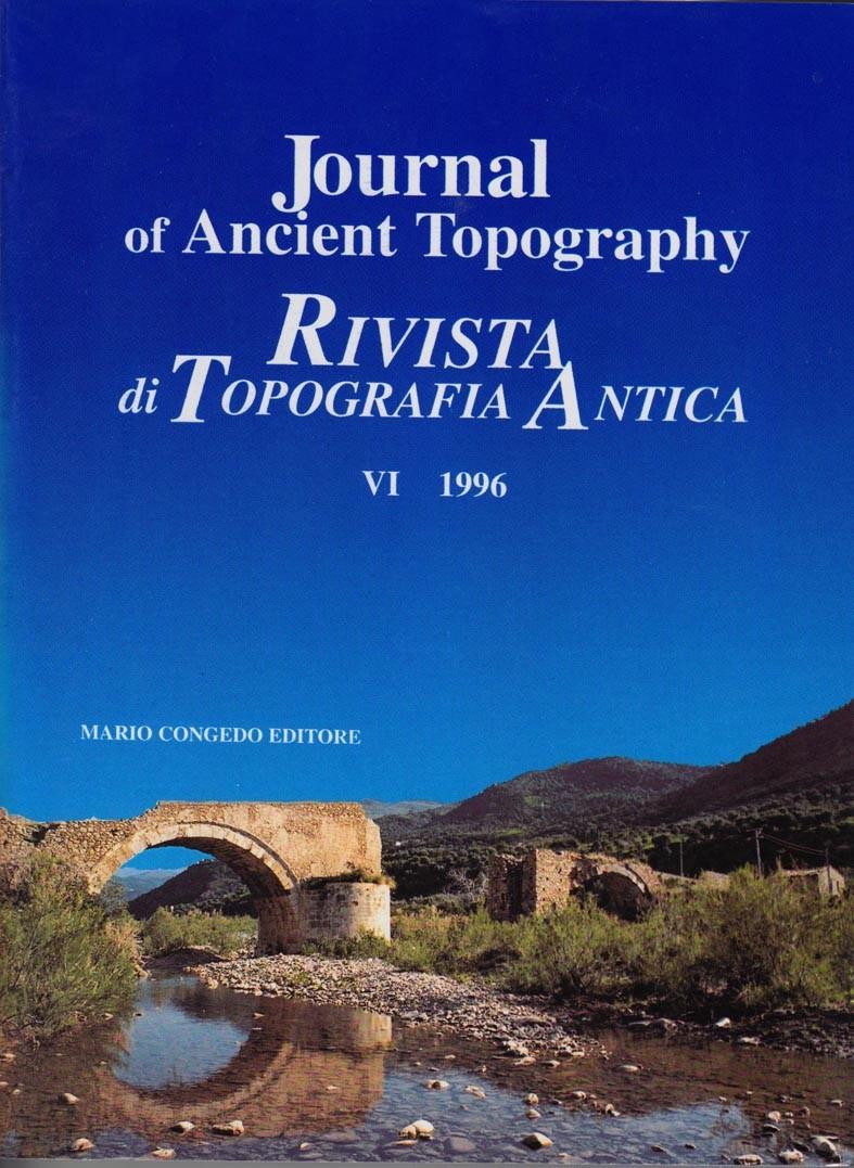 Rivista di Topografia Antica VI - 1996