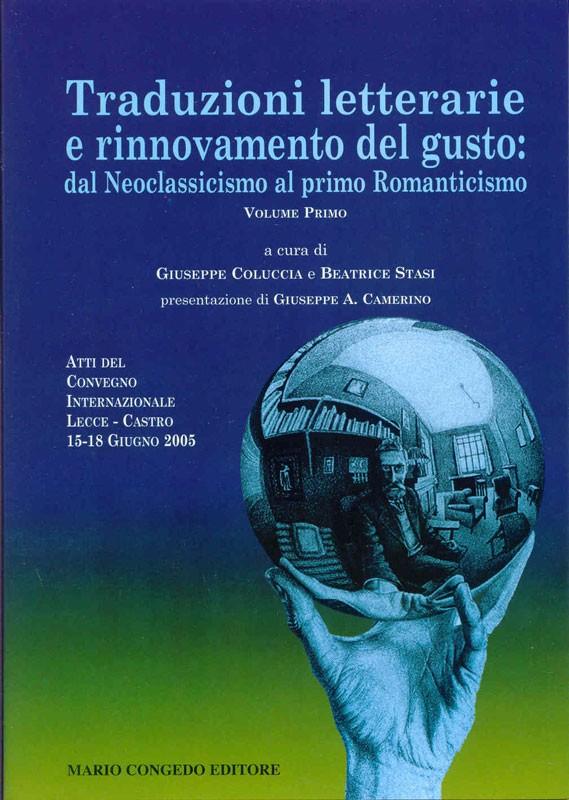 Traduzioni letterarie e rinnovamento del gusto - Volume II