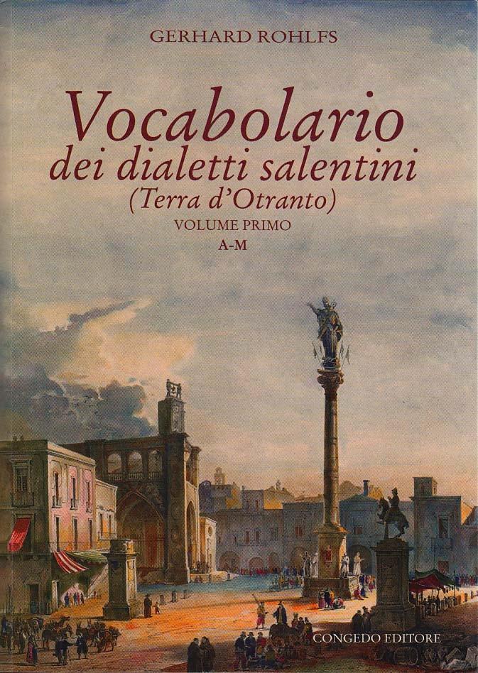 Vocabolario dei dialetti salentini (3 voll.)