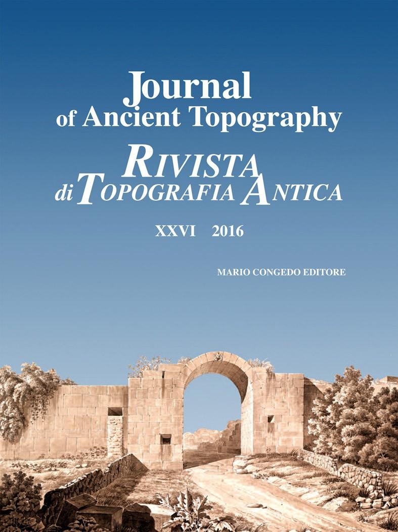 Rivista di Topografia Antica XXVI 2016